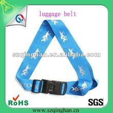 promotion printing luggage strap custom bag band