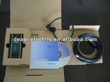 Siemens cable de programación plc 6es7 972- 0cb20- 0xa0 pc/mpi+ usb/ppi usb/ppi+