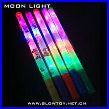 hot sale 4 bulbs led flashing glow stick glow in the dark