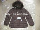 2013 Latest Popular Style Girl's Winter Puffy Jacket