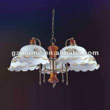 vintage chandeliers lighting white wooden IH5001-5