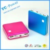 universal portable power bank for mobile phone,iphone,ipad,6000mah portable battery power bank