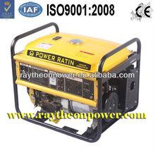 12v DC 100% copper wire Honda type portable petrol generators 5kva