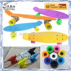 Different board pattern and optional color penny skate board,aluminum colored truck, good quality and best price