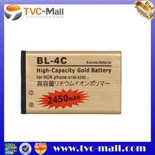 BL-4C Battery for Nokia X2 7270 7200 6301 6300 6300i 6260 2450mAh, high capacity Free Shipping BATY-BL4C-02