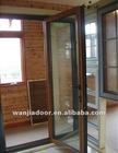 Wanjia hot sale prices doors outer aluminum