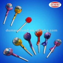 6g Round Ball Fruit Flavor Lollipop