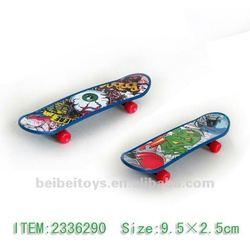 Mini Plastic Finger Skateboard Toy