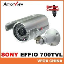SONY EFFIO CCD 700TVL OSD Menu Weatherproof Outdoor 36 LED Bullet Camera IR Night Vision CCTV Surveillance Security Camera