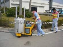 Thermoplastic road line striper