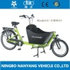2014 hot sale two wheel Cargo Bike UB9015/bakfiets