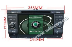 WITSON SKODA Octavia CAR DVD WITH GPS with touch screen