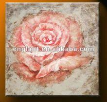 Pink rose modern paintings of flowers