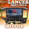 WITSON MITSUBISHI LANCER DVD PLAYER WITH GPS High Quality with Steering Wheel Control