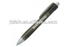 black barrel plastic pen