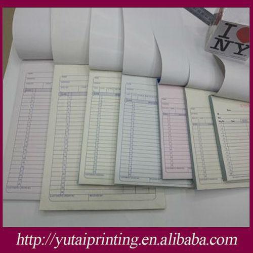 invoice book template