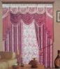 The latest fancy curtains desing with Jacquard for children curtain
