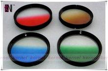 kernel camera lens filter gradual color filter set for dslr