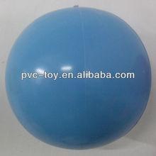 clear blue vinyl play balls for kids