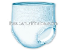 adult breathable disposable diaper pants