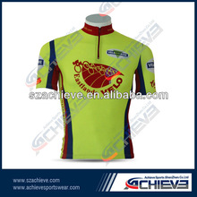 custom active sublimation cycling wear