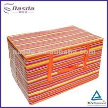 2012 high qulity colourful non woven striped box