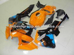 Motorcycle fairing kit body cowl for CBR600RR 05-06 ORANGE&BLACK