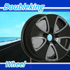 Doubleking brand car alloy wheel (silver/black/chrome)