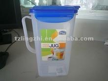 1.2L Plastic water pot/pitcher/kettle/bottle/jug