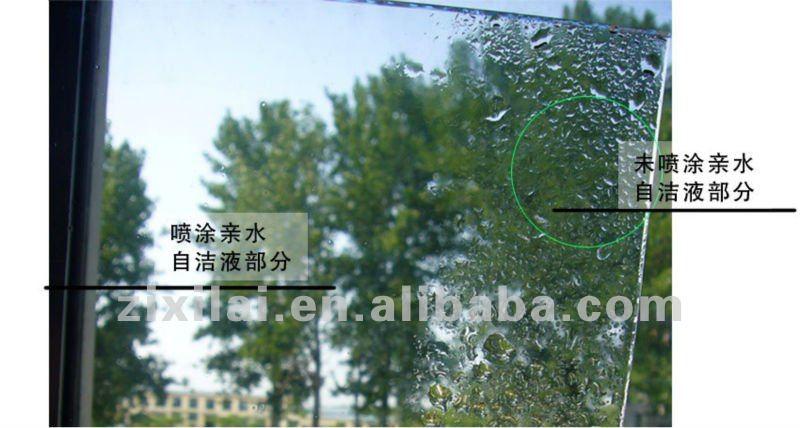 Super hydrophilic Nano tio2 Self cleaning layer