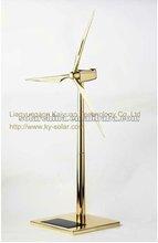 New design solar metal windmill model