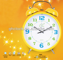 2013 Giant Real Bell Metal Alarm Clock decorative alarm clocks