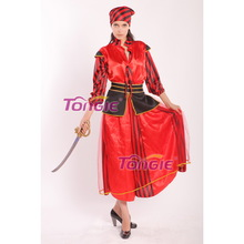 Adult Women's Pirates of the Caribbean Carnival Halloween Costume