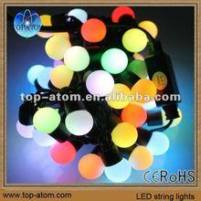 Hi voltage or low voltage input led flex rgb christmas led decor lights