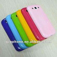glitter powder mobile phone case for Samsung i9300 galaxy s3
