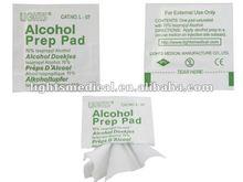 Disposible medical alcohol swab L-07