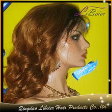 fashion popular wave color #1bT#30 brazilian human hair rihanna style wigs