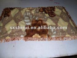 100% polyester 3pcs fleece bedsheet set