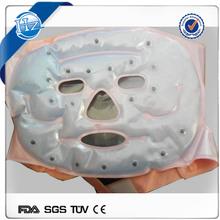Reusable cold gel pack face mask
