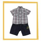 2014 Latest Fashion Design Brand Boys Clothing Boys Dress Casaul Fancy Boy Shirt