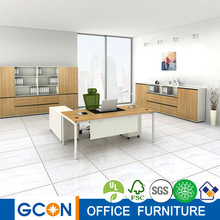 High quality modern office furniture steel & wood office table