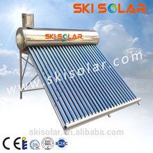 hot sale low pressure parabolic trough solar collectors with vacuum tube
