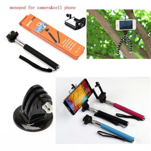 2014 Newest Style Extendable Monopod For Samsum Note 3 , Fashion Selfie Stick without Buletooth