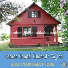 China manufacturer modular homes prefabricated house green wooden garden house