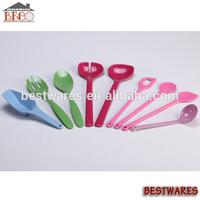 Flatware, plastic kitchenware items, kitchen tool, kitchen utensil