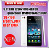 Original ZTE Nubia Z7 Mini 4G LTE Cellular Phone 5 '' 1920*1080 Qualcomm Snapdragon 801 Quad Core 13.0MP Camera