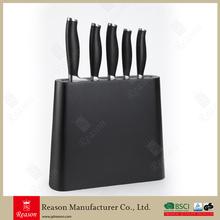 Kitchen Knife Set With Unique Block
