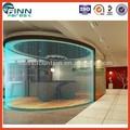 alta qualidade interior e exterior de vidro de água fonte de parede