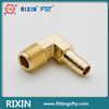 Clamp barb external screw male thread connector brass hose fittings elbow