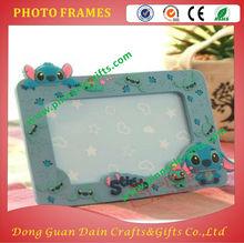 wholesale children-use family photograph blue 3d photo frames
